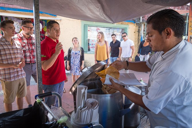 Cancun Street Food, Street Art & Local Market Day Tour with transportation