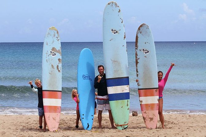 Kauai Learn to Surf Private and Semi Private Lessons