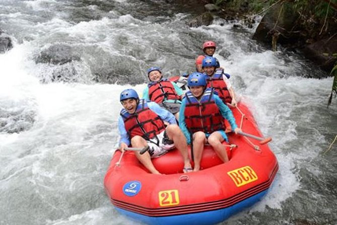 Bali White Water River Rafting