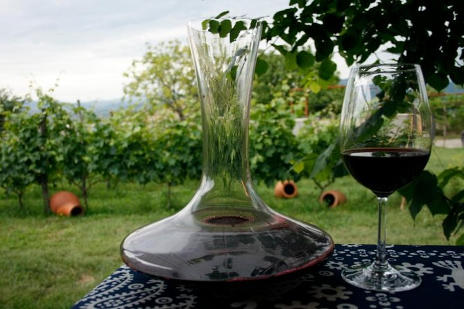 Full Day Private Wine Tour in Kakheti Region with Lunch and 3 Wine Tastings