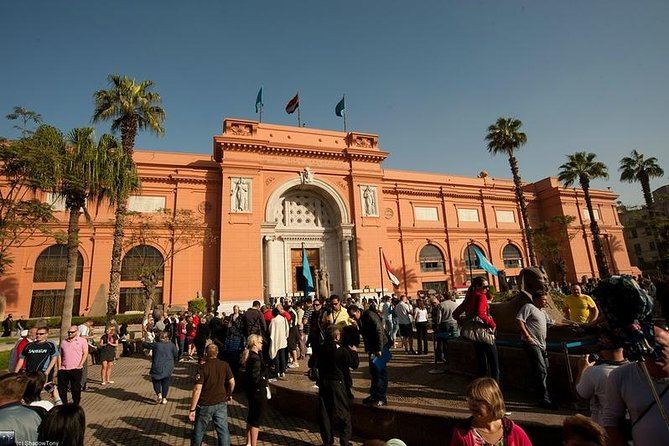 Private Day Tour: Egyptian Museum, Old Cairo and Khan El Khalili Bazaar in Cairo