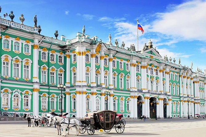 St Petersburg city tour including visit to the state Hermitage museum
