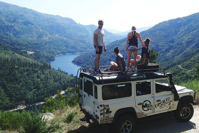 4x4 to waterfalls, lagoons & old village in Gerês Park with Lunch Included