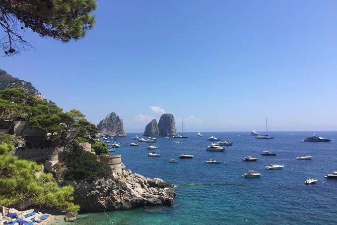 Capri COLLECTIVE boat excursion from Positano