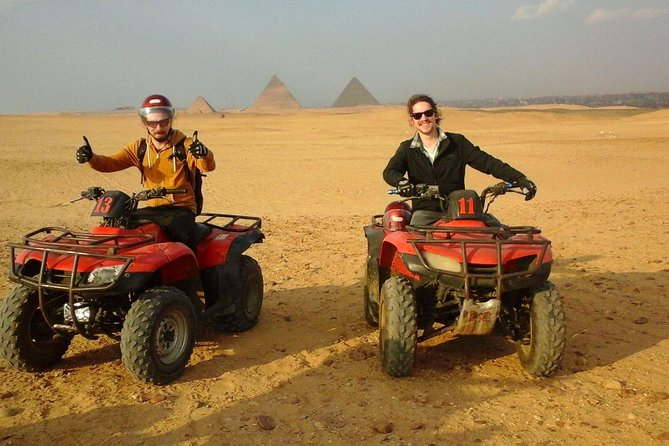 Quad Bike and Camel ride COMBO tour at Giza Pyramids