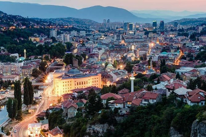 GRAND SARAJEVO WALKING TOUR (history, arhitecture and art)