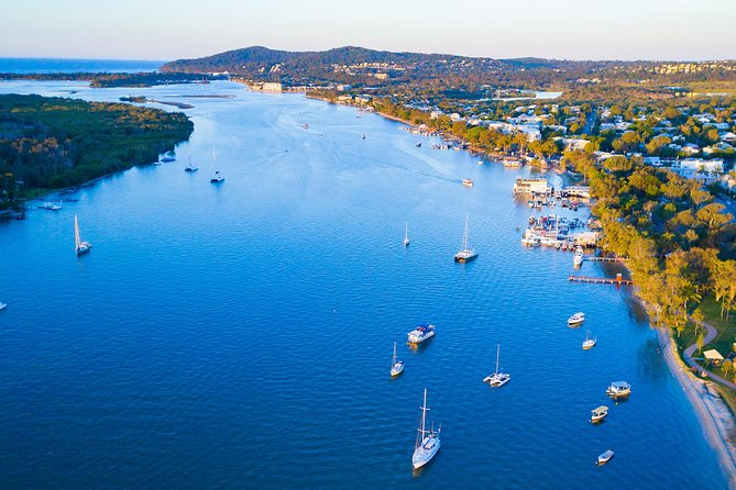 Relaxing Eco Friendly Electric Boat Cruise on the Noosa River