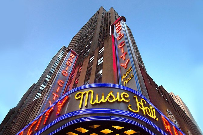 Radio City Music Hall Stage Door Tour