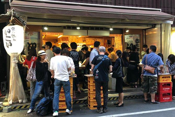 Private Tokyo food scene 6 hour experience: Depatika, street food, izakaya