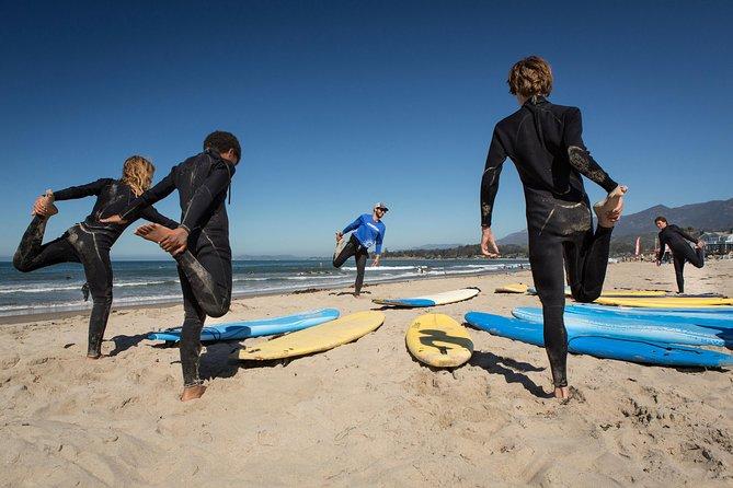 Santa Barbara Surfing Day Lesson