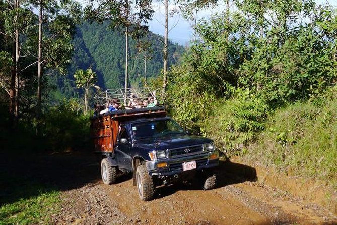 Dota's Red Wine Waterfalls Hiking and 4x4 Tour