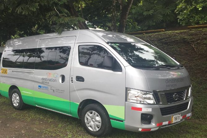 Shared Shuttle From Liberia Airport To Zone 1( Guanacaste )