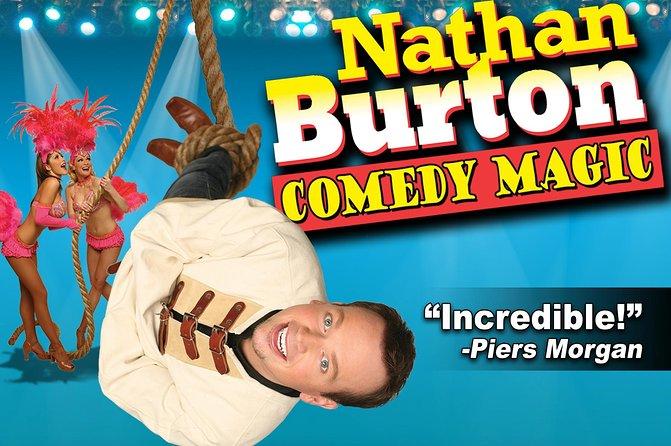 Nathan Burton Magic Show at Planet Hollywood Resort and Casino
