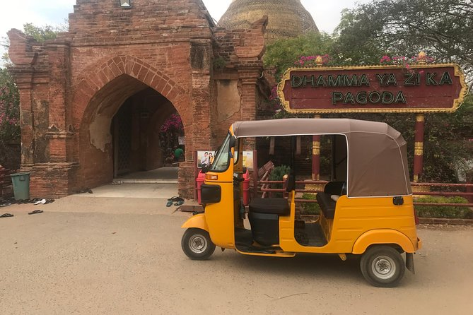 Tuk Tuk Tour in Bagan with Licensed English guide Driver