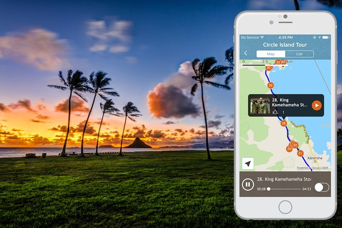 Oahu Grand Circle Island Audio Driving Tour