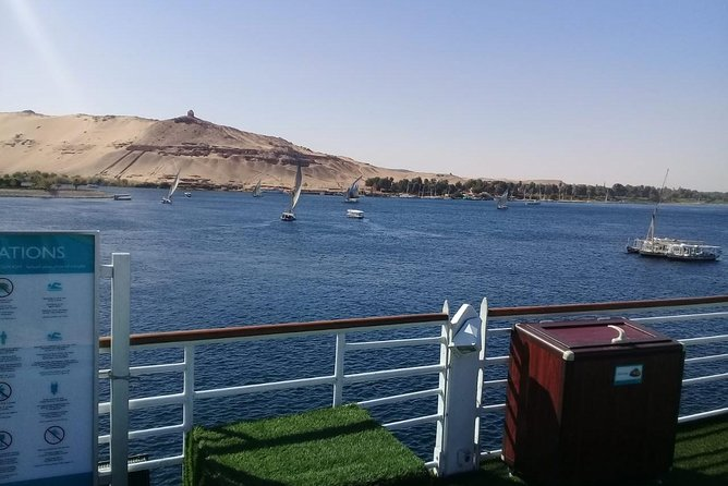 4 Days Nile Cruise luxor.Aswan.abu simbel with Train Tickets from Cairo