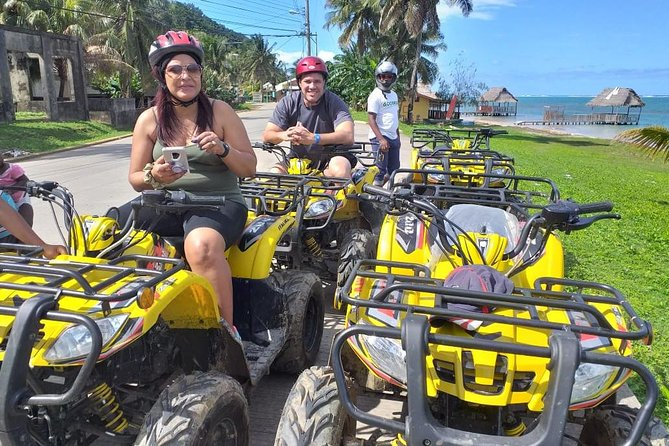 ATV, Zipline, Sloth Park and Beach