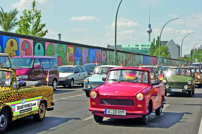 2 hour 15 min Berlin Wall Self Drive Trabant Tour
