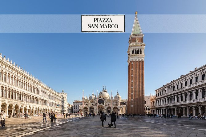 Piazza San Marco: walking tour & charming gondola ride