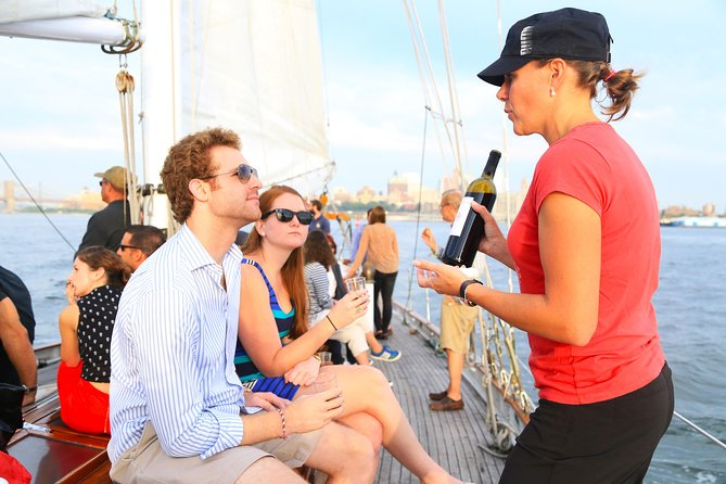 New York Sailboat Cruise with Wine and Cheese