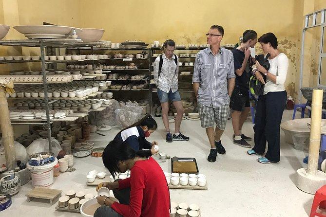 Explore real and unique bat trang ceramics factories and village