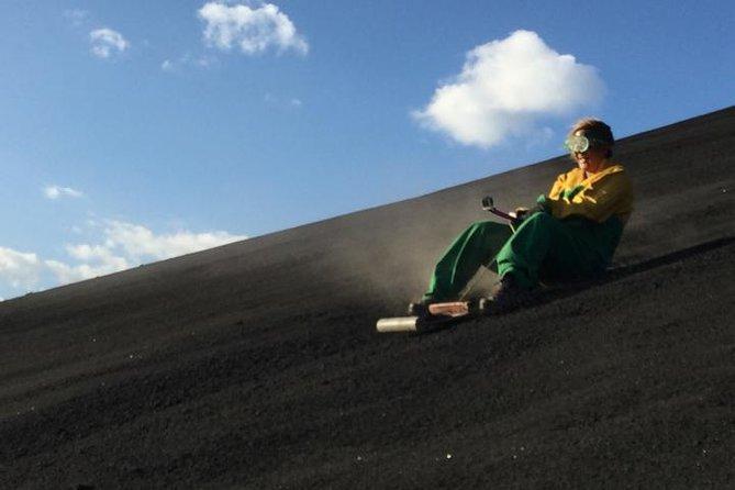 Cerro Negro Volcano Boarding & Boat Tour