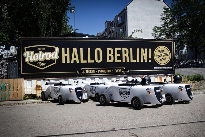 Guided 2-Hour Berlin City Tour in Self-Drive Mini HotRod Vehicle