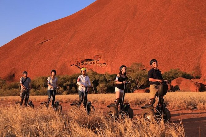 Sunset Segway Experience in Uluru from Yulara