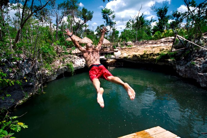Cancun Extreme Zipline Canopy Tour