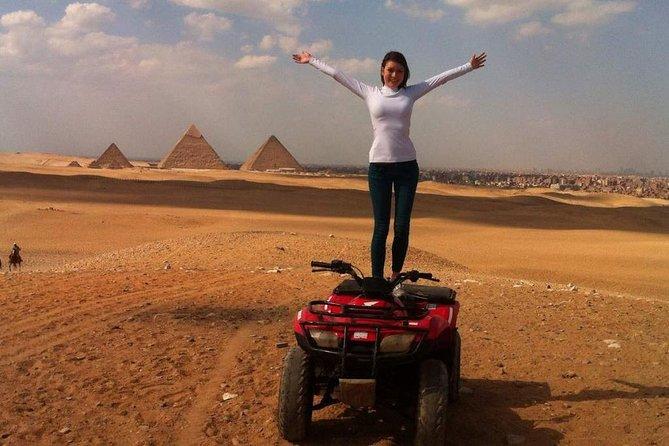 ATV Quad Bike Ride At GIZA Pyramids and Sound & Light Show