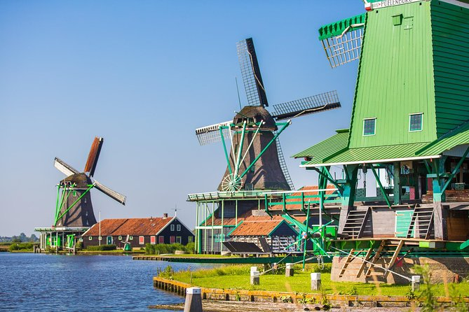 Volendam, Marken and Windmills Day Trip from Amsterdam