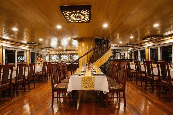 Amazing Halong Bay 3 days 2 nights on Cristina Diamond Cruise 4**** LUXURY