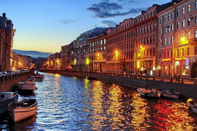 Boat Cruise on the Rivers and Canals of Saint Petersburg