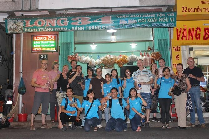 Food Tour by motorbike with local students