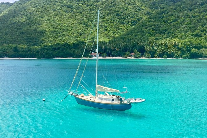 St John Sail and Snorkel Adventure from Sapphire Marina NO CROWDS~ 6 GUEST MAX