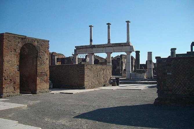 Departure from Sorrento: Guided tour of Pompeii and Herculaneum, with tickets included