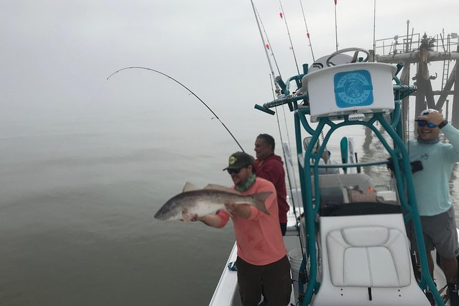 Coastal Saltwater Fishing Charter from New Orleans