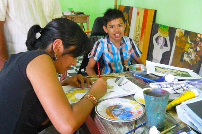 Bali Traditional Painting Class