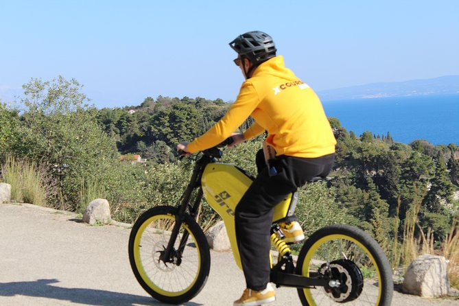Marjan Park Forest tour with Greyp fully electric bike