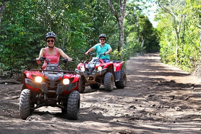 Atv's, Ziplines and Cenote Swim From Cancun and Riviera Maya