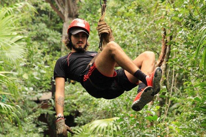 Ziplines atv jungle adventure!