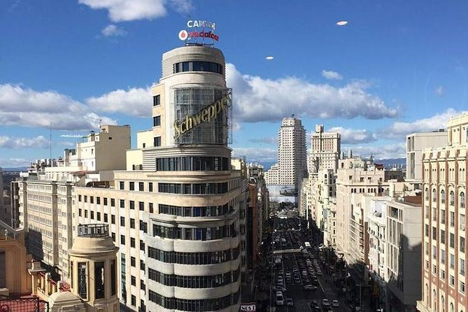 Architour for Gran Vía from its best roofs SXX