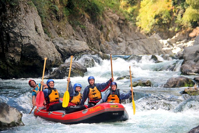 Half Day, Grade 5, White Water Rafting on the Rangitikei River