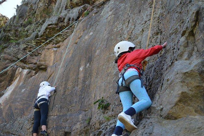 Climbing in Suesca