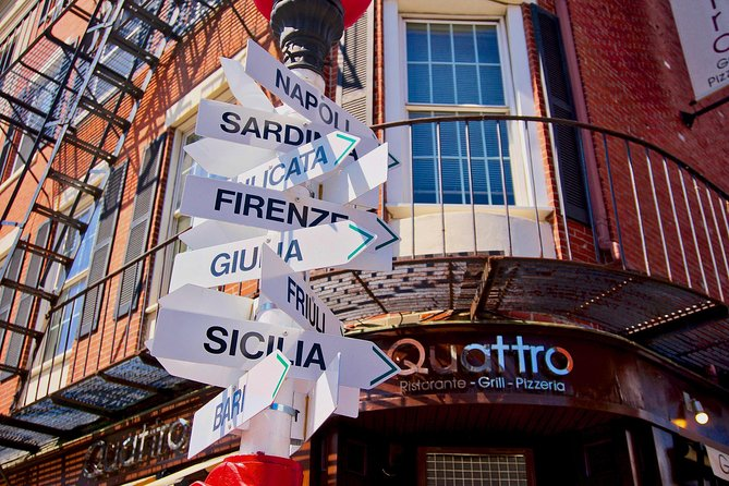 Boston's North End-Little Italy History + Photo Walking Tour (Small Group)