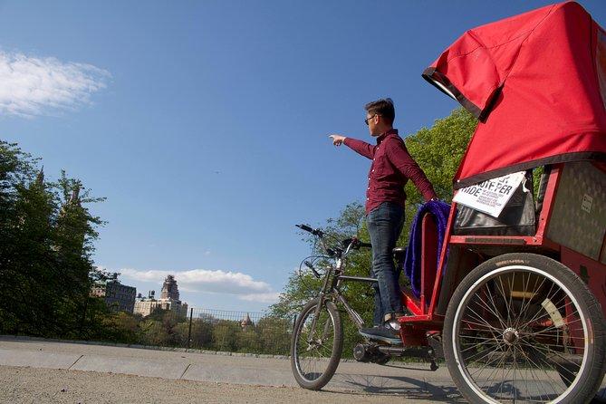 Central Park Pedicab Guided Tours