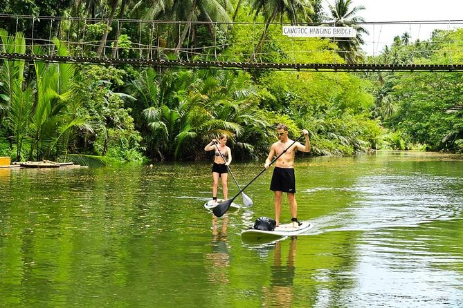 Bohol Full Day Abatan River Stand Up Paddle With Lunch
