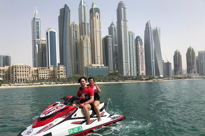 1H JET SKI Tour Dubai, Burj al Arab & Atlantis