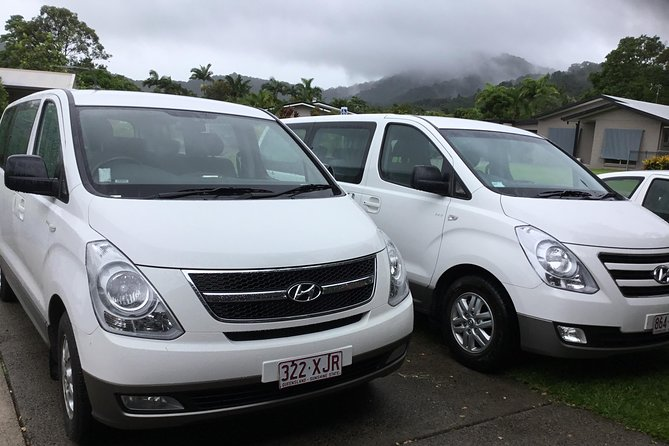 IMAX Private Transfer 7 Guests Cairns Airport to Hotels in Cairns City