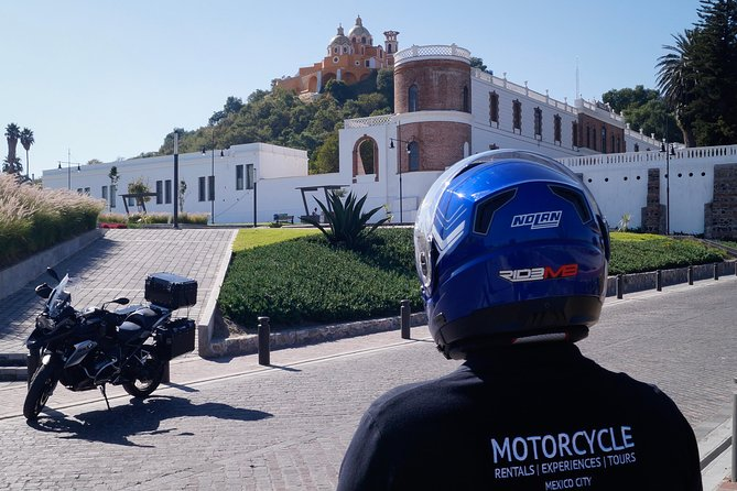 The magic of Cholula, Puebla on a Motorcycle